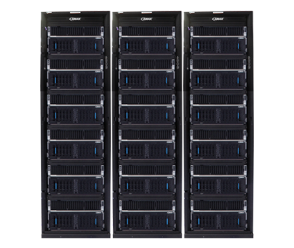 ClusterMax™ Stor-X cluster built for petabyte-scale HPC storage deployments requiring extreme performance