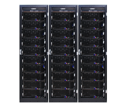 AMAX ClusterMax SuperG High-powered HPC cluster driven by the revolutionary NVIDIA Tesla V100 GPU Accelerator.