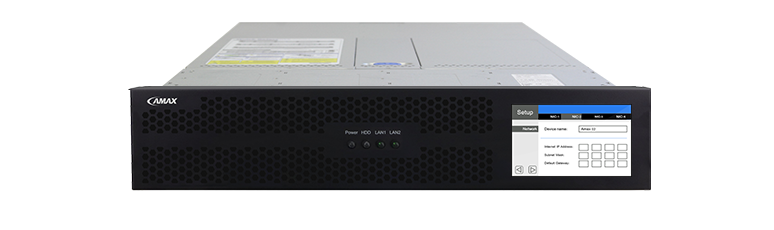 AMAX Server Prototype Design