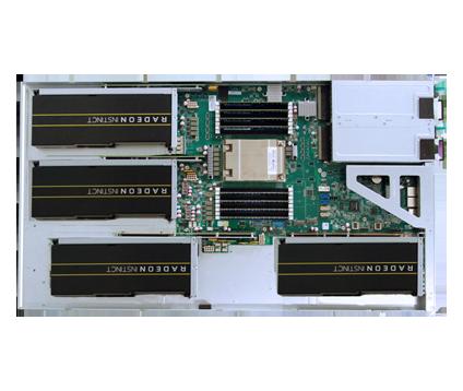 AMAX BrainMax ICG-160 Liquid cooled, density-optimized GPU-accelerated server