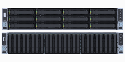 2U 2-Processor Systems in Various Drive Tray Formats