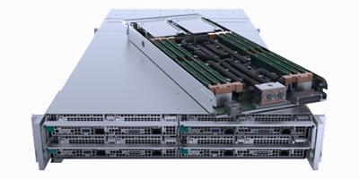 2U 4 Node Liquid Cooling Server
